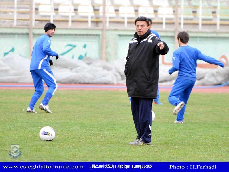 تمرین باشگاه استقلال تهران